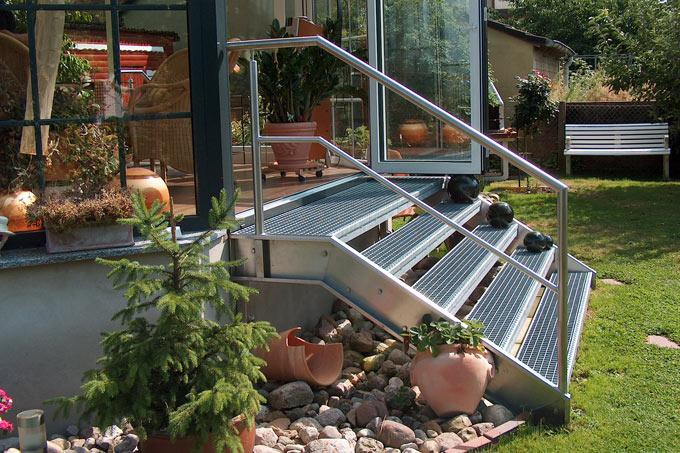 Red Metallbau Minden Produkte Treppen Gelander